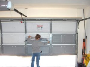 insulated the garage