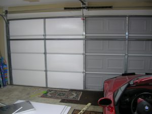 uninsulated garage